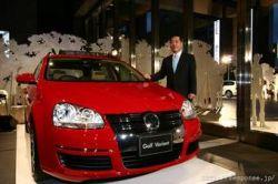 Volkswagen, BMW и Mercedes — самые продаваемые иномарки Японии в 2007