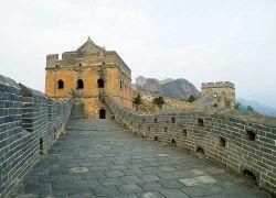 Туристов пустят на ранее закрытые участки Великой Китайской стены