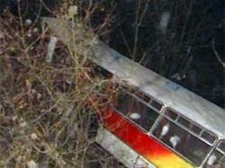 При въезде в Ростов-на-Дону опрокинулся автобус из Севастополя