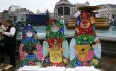 Фестиваль «Русская зима» открылся на Трафальгарской площади Лондона