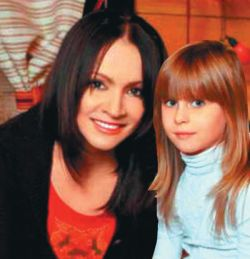 София Ротару подарила внучке Соне куклу за $25 000