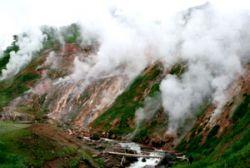 Самовосстановленная долина гейзеров на Камчатке
