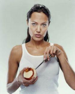 Анджелина Джоли в объективе Мартина Шоллера (фото)