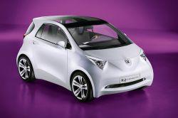 Toyota iQ: машина будущего от Toyota (видео)