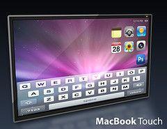 Появился эскиз MacBook touch