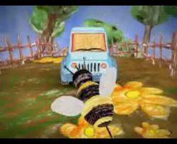 Забавный ролик для Jeep, сделанный с помощью детских рисунков (видео)