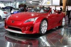 Lexus представил супер-кар  Lexus LF-A Roadster