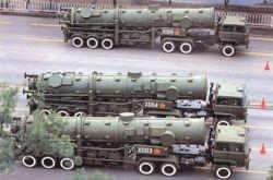 Китай разрабатывает противокорабельные баллистические ракеты