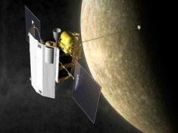 Космический аппарат Messenger пролетел на рекордно близком расстоянии от поверхности Меркурия - всего 203 км