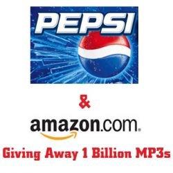 Pepsi и Amazon бесплатно раздадут товаров на $1 млрд.