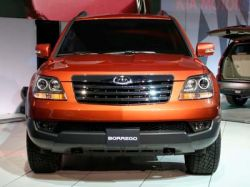 Автосалон в Детройте 2008: Kia Borrego