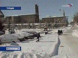 Сибирские морозы добрались и до Турции