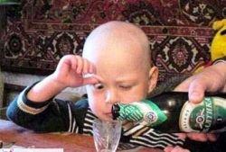 40 тысяч украинцев ежегодно убивает любовь к спиртному