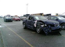 В Америке при доставке разбили 370 автомобилей BMW