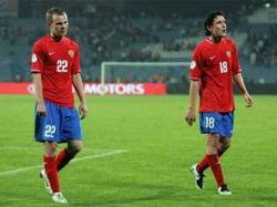 Сборная России потеряла одну позицию в рейтинге ФИФА