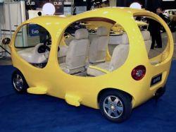 Детройт 2008: Китайский автомобиль-пузырь Tang Hua