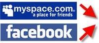 Американцы отдают предпочтение MySpace