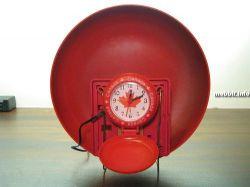 Будильник со звонком пожарной сигнализации (видео)