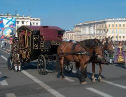 Гужевой транспорт - светлое будущее человечества?