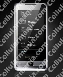 Первое фото смартфона Samsung i900