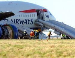 Авиакатастрофа в аэропорту Хитроу (фото)