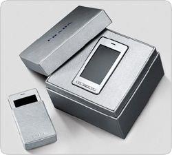 Авангардный супер-телефон Prada вышел в серебряном варианте
