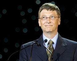 Каждый второй хочет быть Биллом Гейтсом