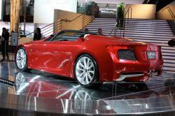 Презентация нового родстера Lexus LF-A в Детроите (фото)