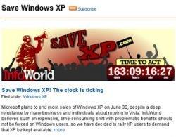 Начата кампания в поддержку Windows ХР