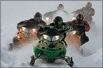 На Домбае ввели запрет на снегоходы и квадроциклы