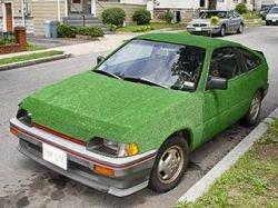 В Америке создали в буквальном смысле «зелёный автомобиль»