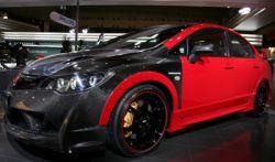 Карбоновый концепт Mugen Honda Civic Type RR представили в Токио