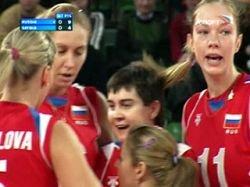 Волейболистки сборной России завоевали путевку на Олимпиаду-2008