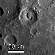 На Меркурии найден кратер-телефон