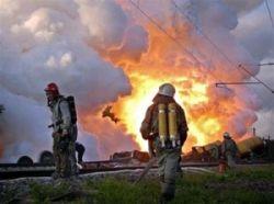 Под Мурманском полыхают склады с военной техникой
