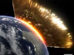Что будет с Землей при столкновении с большим метеоритом? (видео)