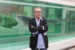 Работы скандального продавца платинового черепа Дэмиена Херста вновь появились на аукционе Sotheby\'s