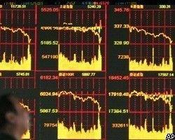 Индекс ММВБ через минуту после открытия торгов упал на 7%