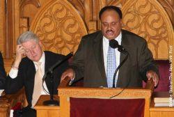 Билл Клинтон (Bill Clinton) заснул от речи Мартина Лютера Кинга (Martin Luther King) (видео)