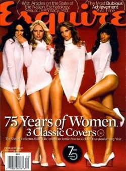 Модели Victoria's Secret снялись в новом номере Esquire (фото)
