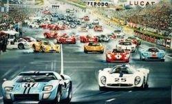 Toyota готовит гибридный спорт-кар для гонок в Ле-Мане
