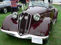 Спорткар Бенито Муссолини выставлен на аукцион