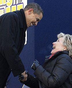 Хиллари Клинтон и Барак Обама обменялись обвинениями