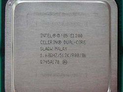 Intel выпустила первый Celeron с двумя ядрами