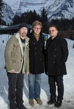 """Репортаж с премьеры трехмерного документального фильма \""""U2 3D\"""" (фото)"""