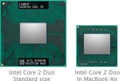 В ноутбуках MacBook Air обнаружены эксклюзивные процессоры от Intel