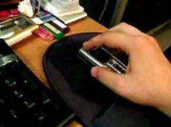 Сотовый телефон наделят функцией компьютерной мыши