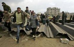 Тысячи палестинцев прорвали границу с Египтом (фото)