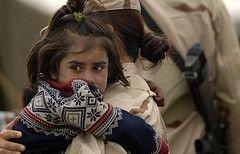 Сотни афганских детей заболели пневмонией из-за холодов