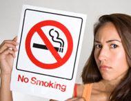 Курение и флирт несовместимы (видео)